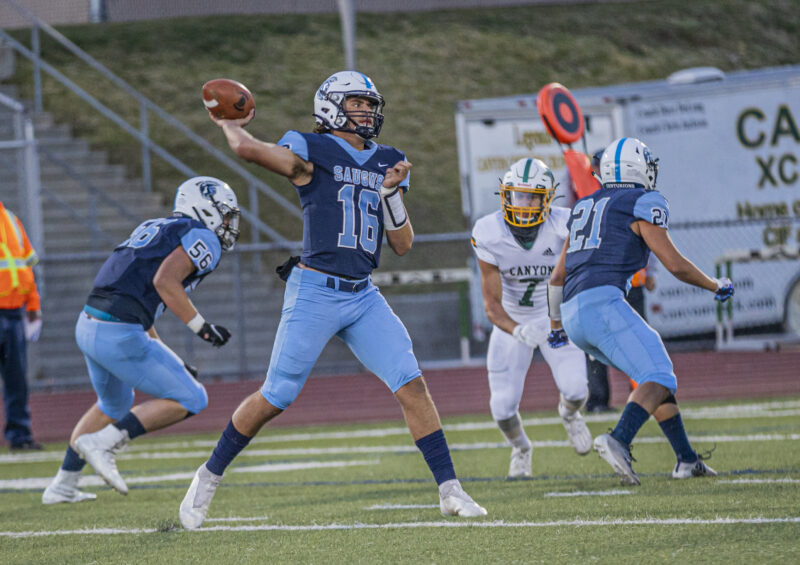 Football is back: Saugus tops Canyon in opener