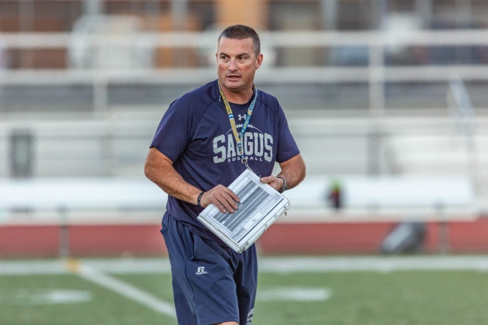 Saugus coach Jason Bornn named Coach of the Year