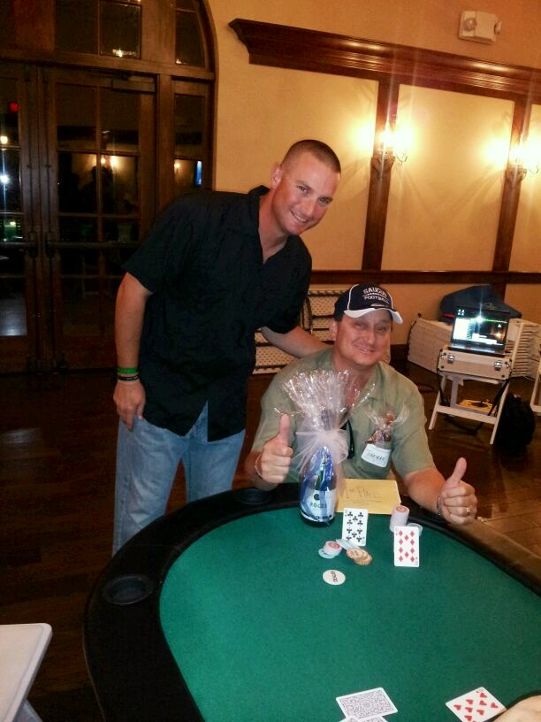 Saugus Football Texas Hold'em Winner!!