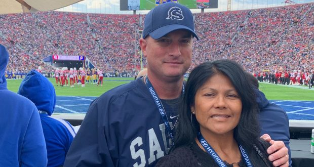 Saugus Football Head Coach Named Coach Of The Year By L.A. Rams