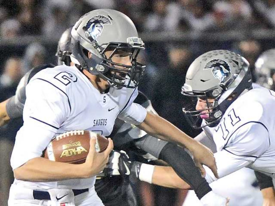 Saugus football earns playoff spot with win over G.V.