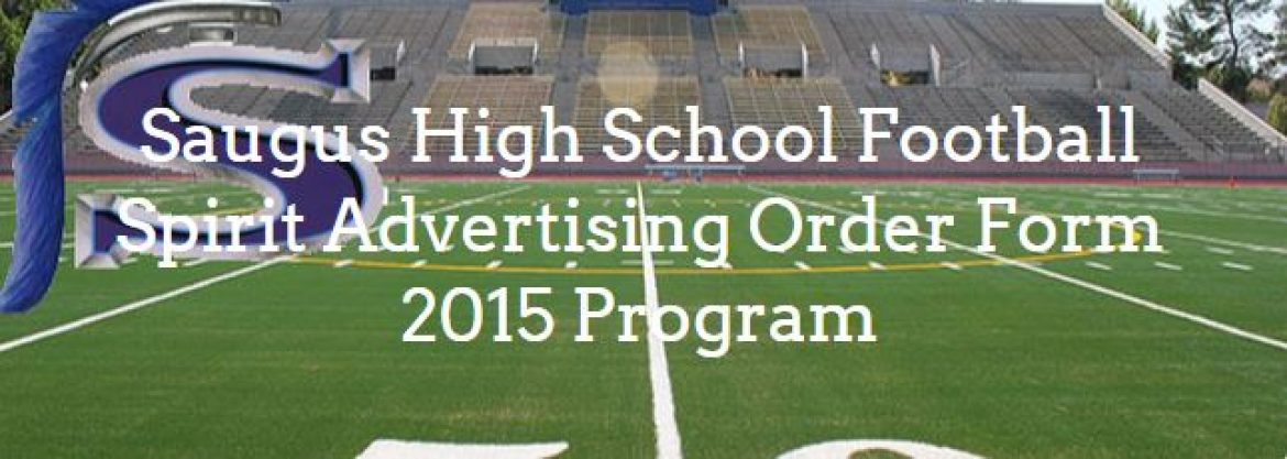 Register Your Spirit Ad For The Game Programs Now!